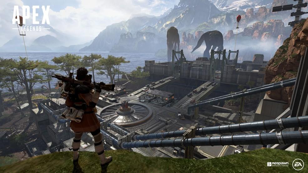 A desenvolvedora Respawn optou por um lançamento silencioso de Apex Legends — Foto: Divulgação/EA Games