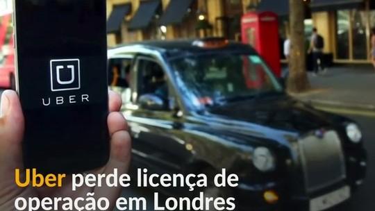 Por que o Uber não vai mais poder operar em Londres