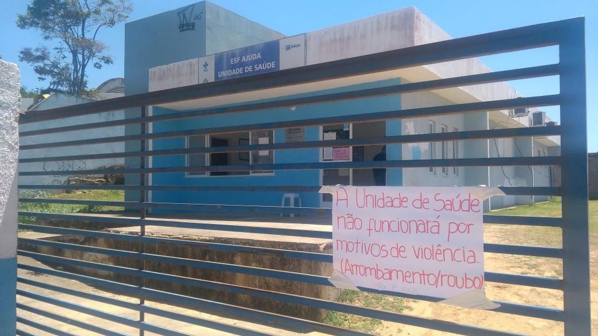 Posto de Saúde em Macaé, RJ, fica sem atendimento após ter objetos e alimentos furtados