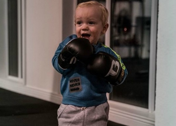 O pequeno Conor Jack McGregor Jr (Foto: Reprodução Instagram)