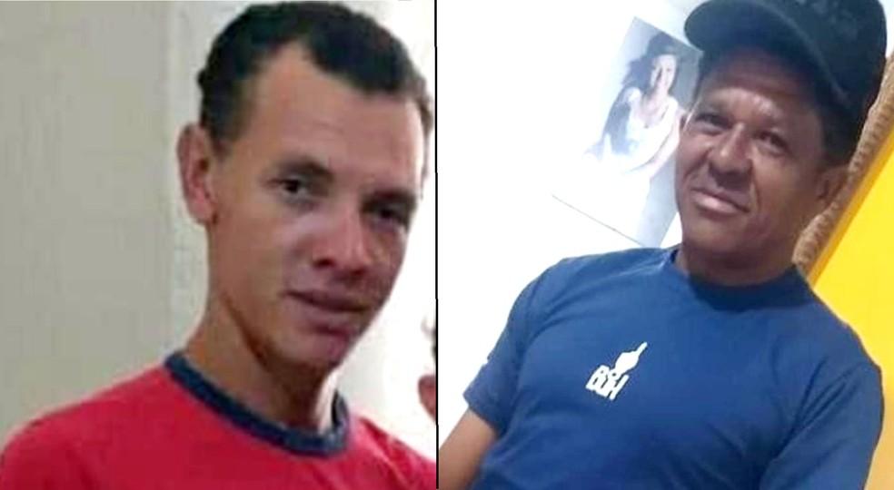 Douglas Bruzese e Amaro João da Silva não resistiram aos ferimentos e morreram; velório e enterro serão nesta terça (21), em Dois Córregos — Foto: Arquivo pessoal
