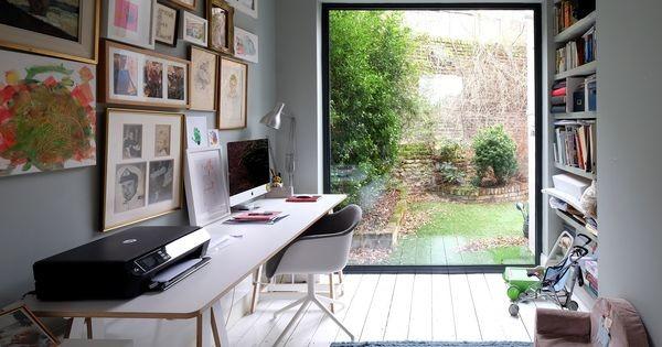 Home office no quintal: 15 projetos para inspirar (Foto: Viv Yapp)
