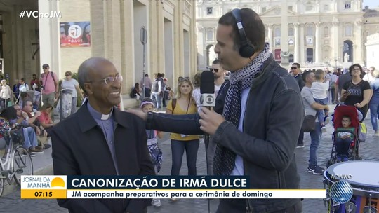JM no Vaticano: Ricardo Ishmael encontra brasileiros que vão participar da canonização