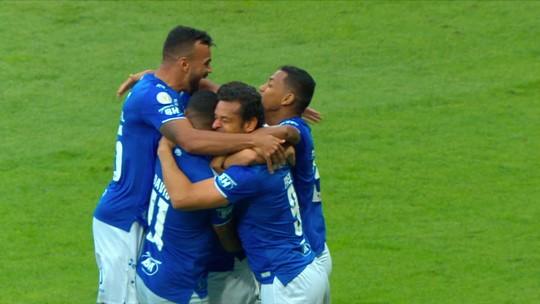 Em início com Ceni, Thiago Neves dobra finalizações em um jogo no Brasileiro e reencontra o gol