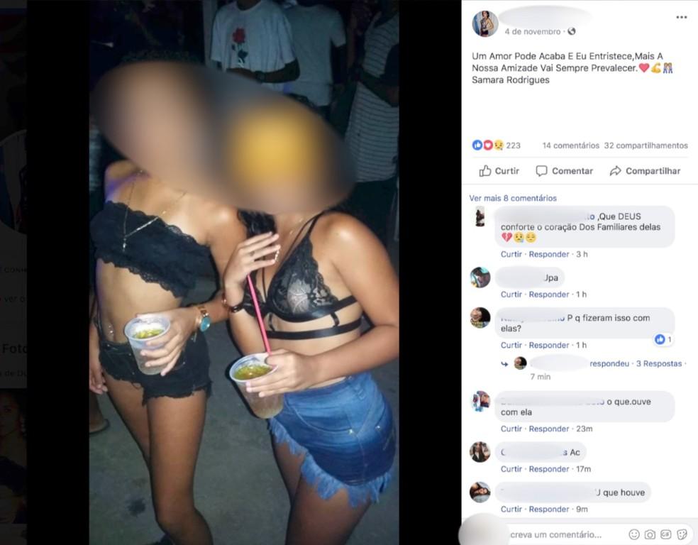 Vítimas de 11 e 12 anos foram encontradas mortas em uma estrada em Casimiro de Abreu — Foto: Reprodução | Redes Sociais