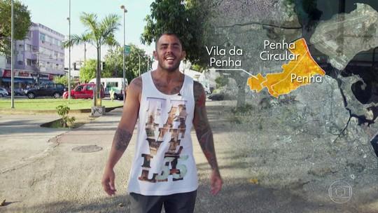 Diz que é cria estaciona na Vila da Penha