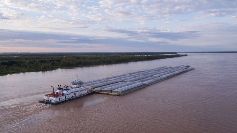 Hidrovias-Brasil-empresa-hidrovia-carga-soja (Foto: Divulgação)