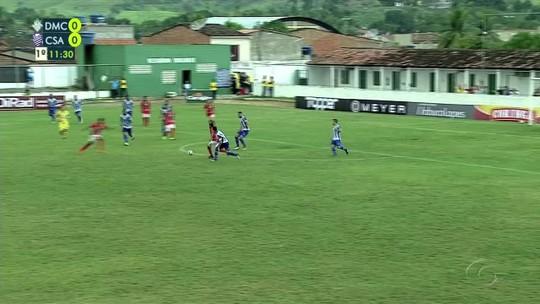 Dimensão Capela x CSA - Campeonato Alagoano 2019 - globoesporte.com
