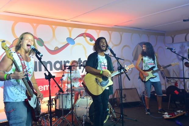 Banda Fuze (Foto: Marcia Tavares / Ed. Globo)