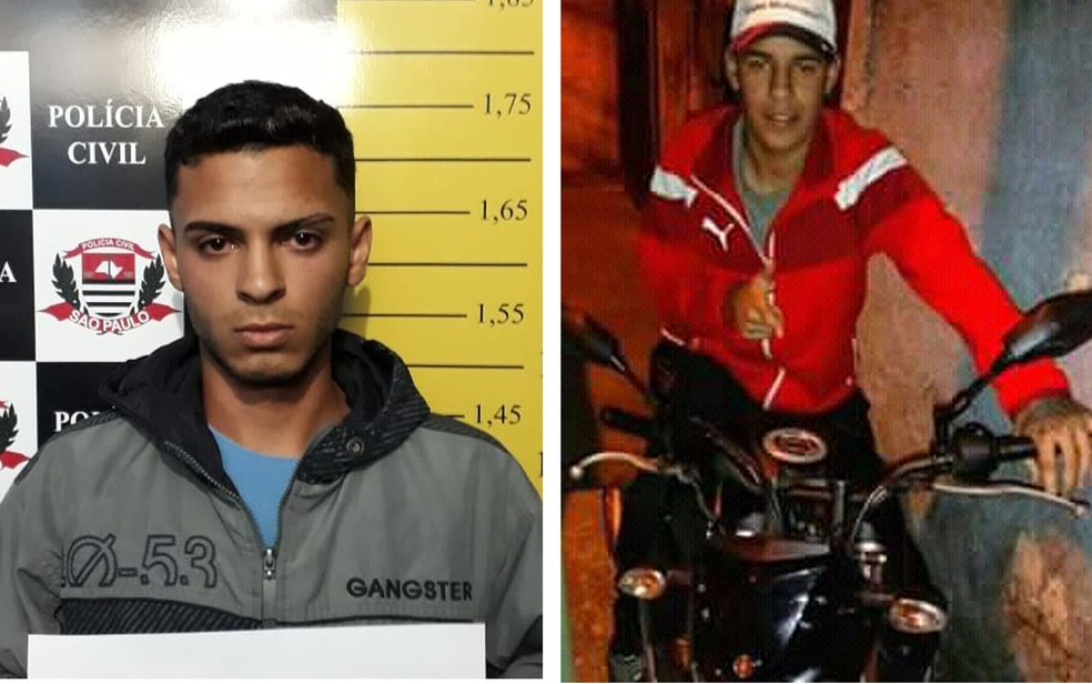 Erick Pereira Soares e Eduardo Marques, suspeitos de terem matado estudante durante assalto em Santo André (Foto: Divulgação/Polícia Civil)
