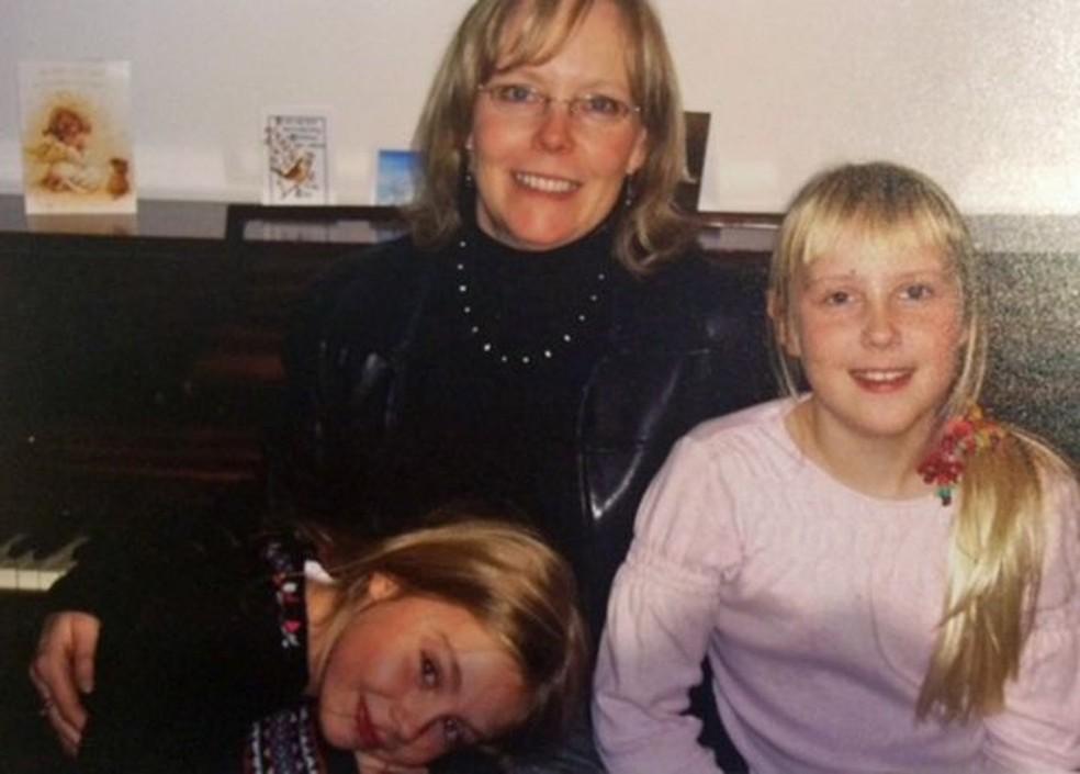 Ter filhas, segundo Pauline, ajudou-a a recuperar, em parte, o relacionamento com Ruth antes de sua morte (Foto: Arquivo pessoal)