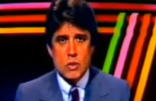 Sergio Chapelin foi o primeiro apresentador do programa, que estreou em 1973 (Foto: Reprodução da internet)