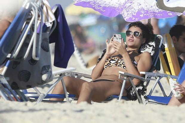 Débora Nascimento (Foto: Dilson Silva / AgNews)
