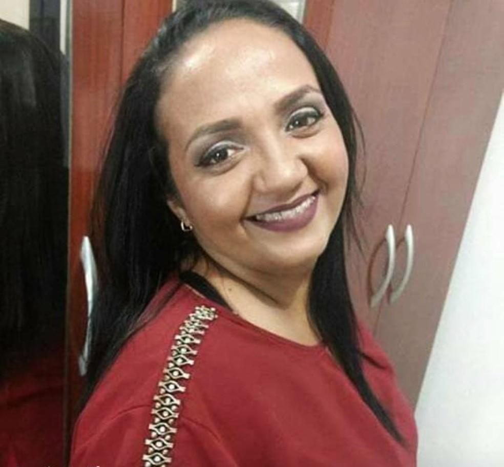Vítima foi identificada como Luciana Flor — Foto: Arquivo Pessoal