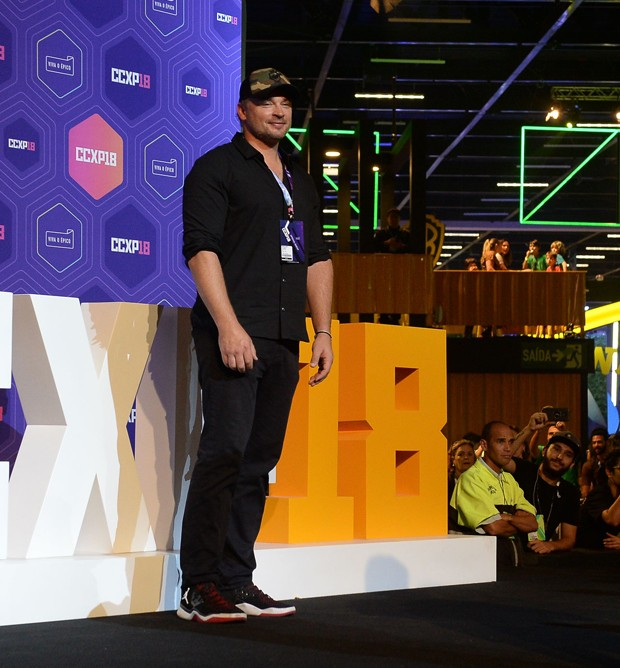 Tom Welling na CCXP18 (Foto: Francisco Cepeda/AgNews)