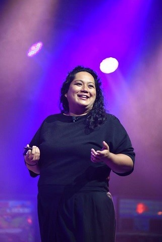 A diretora de estratégia do estúdio T Brand, do The New York Times, Kathleen Dimantakis  (Foto: Divulgação)
