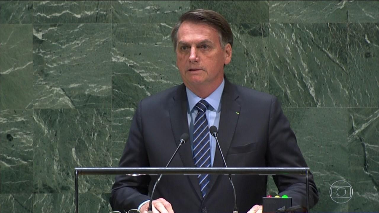Bolsonaro abre Assembleia Geral da ONU com discurso considerado agressivo