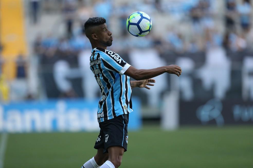 Léo Moura contra o Vasco — Foto: Diego Vara/BP Filme