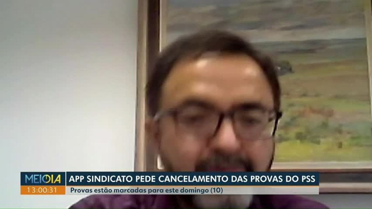 APP Sindicato pede na Justiça cancelamento de provas do PSS