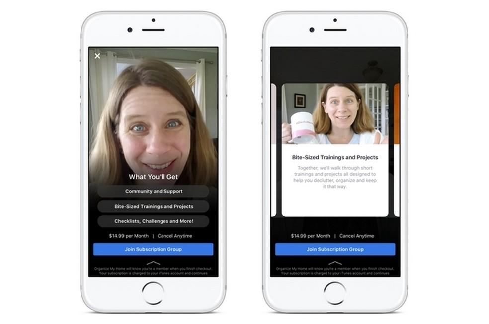 Facebook começa a testar cobrança de mensalidade em grupos  (Foto: Divulgação/Facebook)