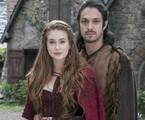 Marina Ruy Barbosa e Romulo Estrela são Amália e Afonso em 'Deus salve o rei' | Rafael Campos/TV Globo