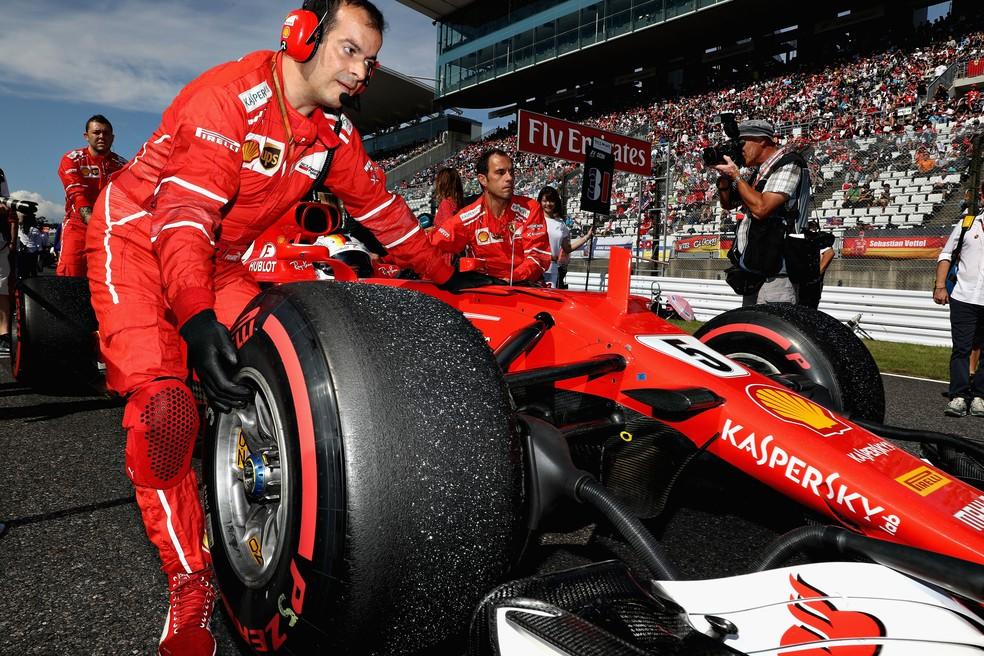 Apesar dos problemas recentes, saldo da Ferrari em 2017 é positivo (Foto: Getty Images)