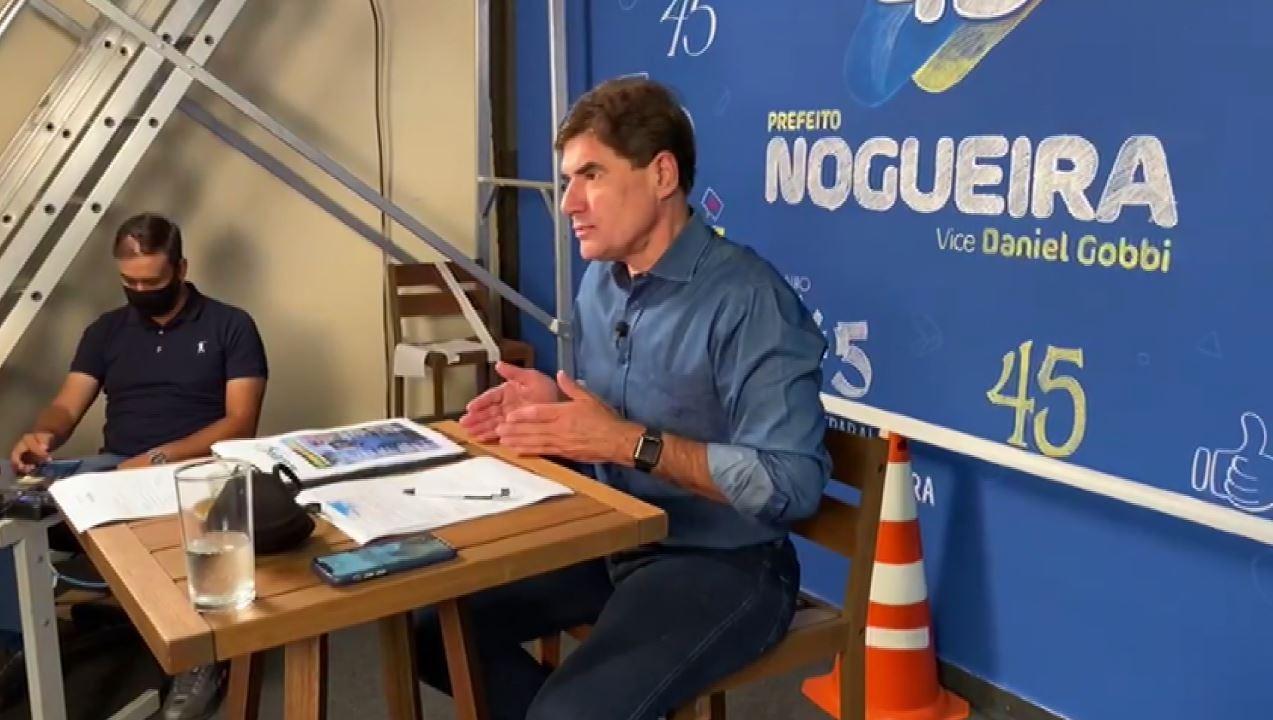 Candidatos à Prefeitura de Ribeirão Preto, SP, encontram eleitores e gravam programa eleitoral nesta sexta-feira (23)