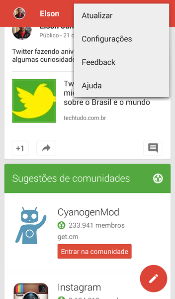 Backup de Fotos do Google+ | Download | TechTudo