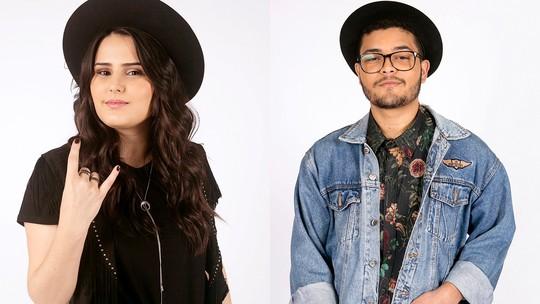 Lili e Victor Filgueira contam que se divertiram nas 'Audições às Cegas'