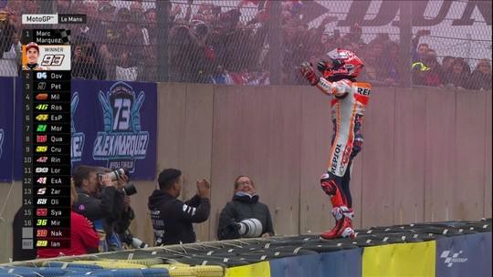 Márquez vence GP da França e dá 300ª vitória à Honda na MotoGP