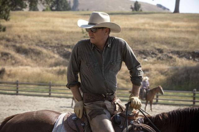 Kevin Costner em 'Yellowstone' (Foto: Divulgação/Paramount)