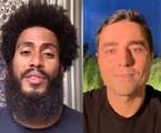Ícaro Silva e Ricardo Pereira farão 'Cara e coragem' | Reprodução