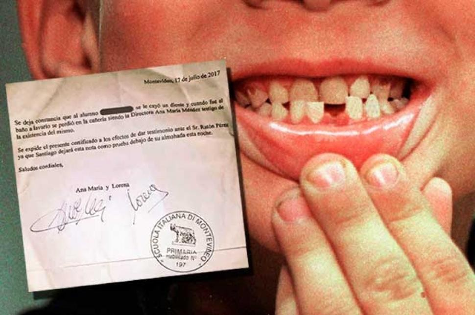 Diretora escreveu carta para ajudar aluno a se entender com a Fada do Dente