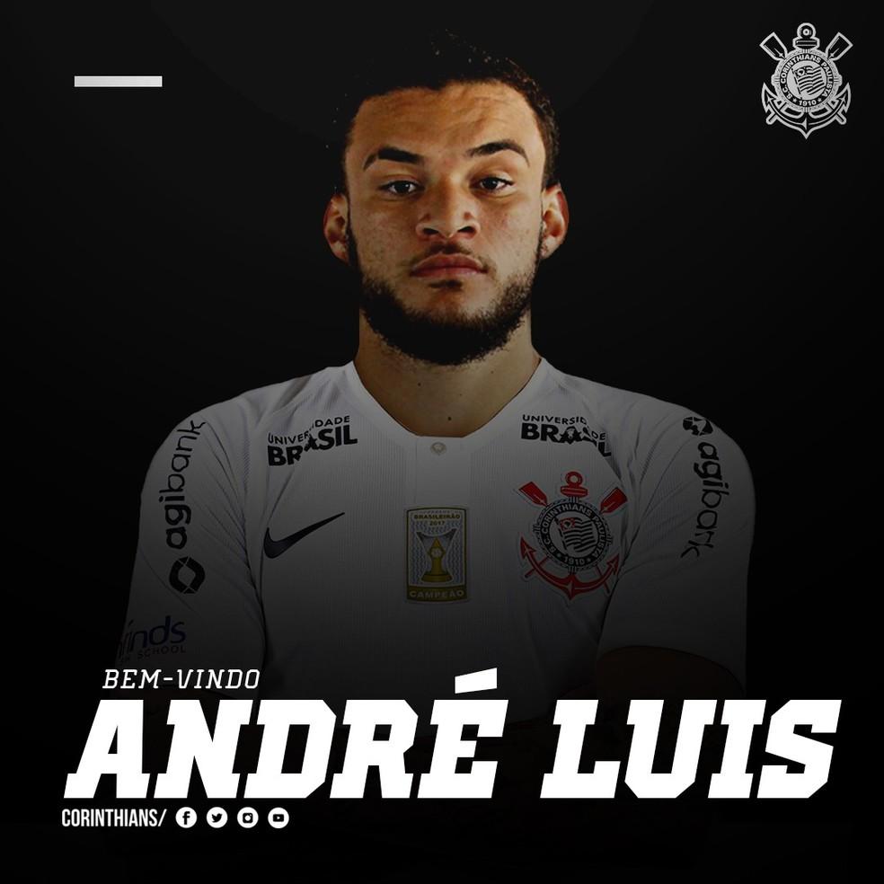 André Luis já vestiu a camisa do Corinthians — Foto: Divulgação