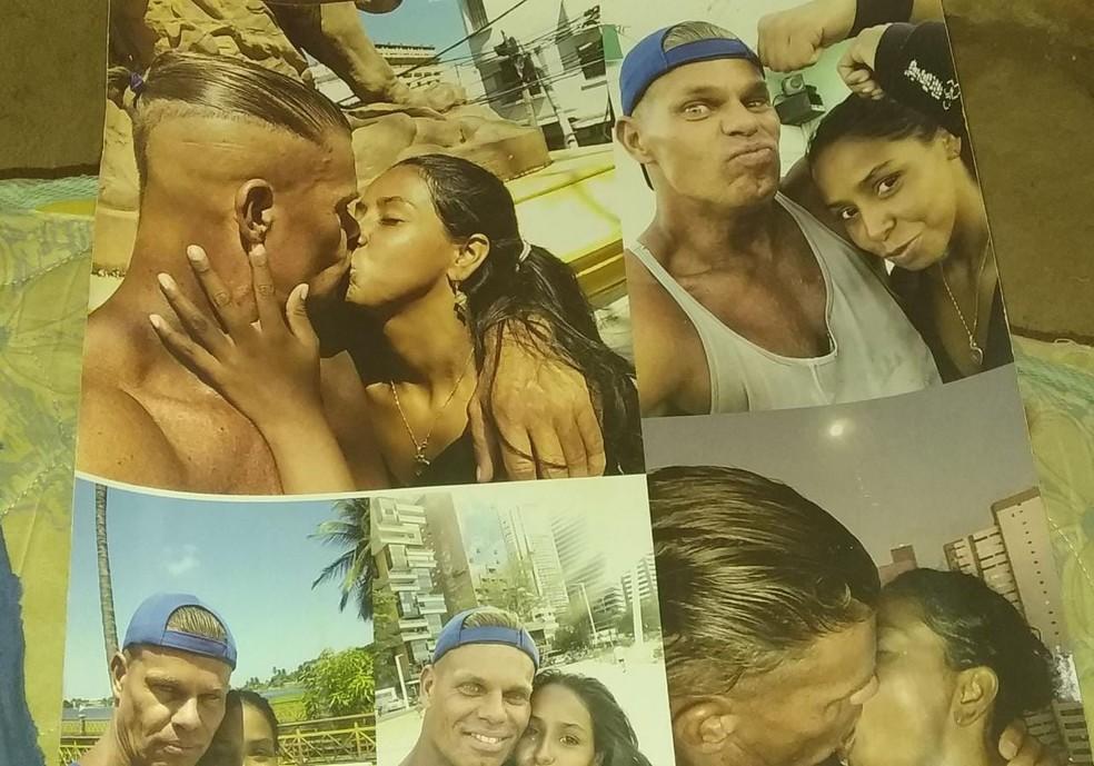 Patrícia e Dennis tinham um relacionamento há pelo menos três anos — Foto: Arquivo Pessoal