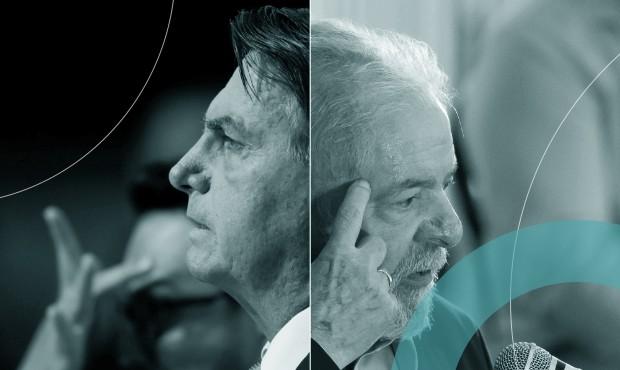 Bolsonaro e Lula: articulação tenta criar alternativa a ambos em 2022 para evitar que país continue dividido