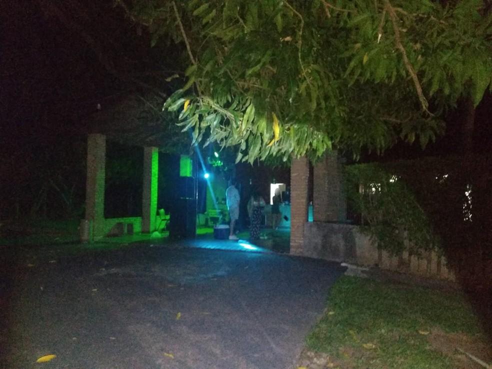 Ministério Público e Polícia Militar barraram duas festas clandestinas com alunos de medicina em Presidente Prudente — Foto: Ministério Público
