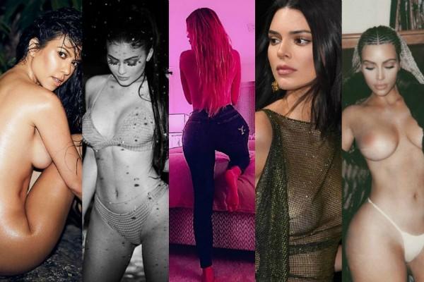 Os posts mais escandalosos das Kardashians em 2018 (Foto: Reprodução Instagram)