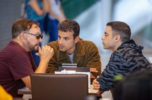 Wolf Maya, Anderson Di Rizzi e Pedro Carvalho (Foto: Divulgação)