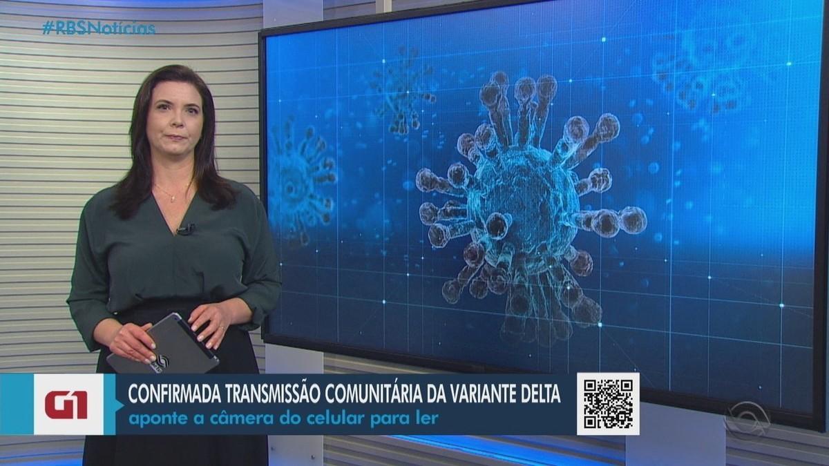 Vigilância em Saúde confirma transmissão comunitária da variante delta no RS