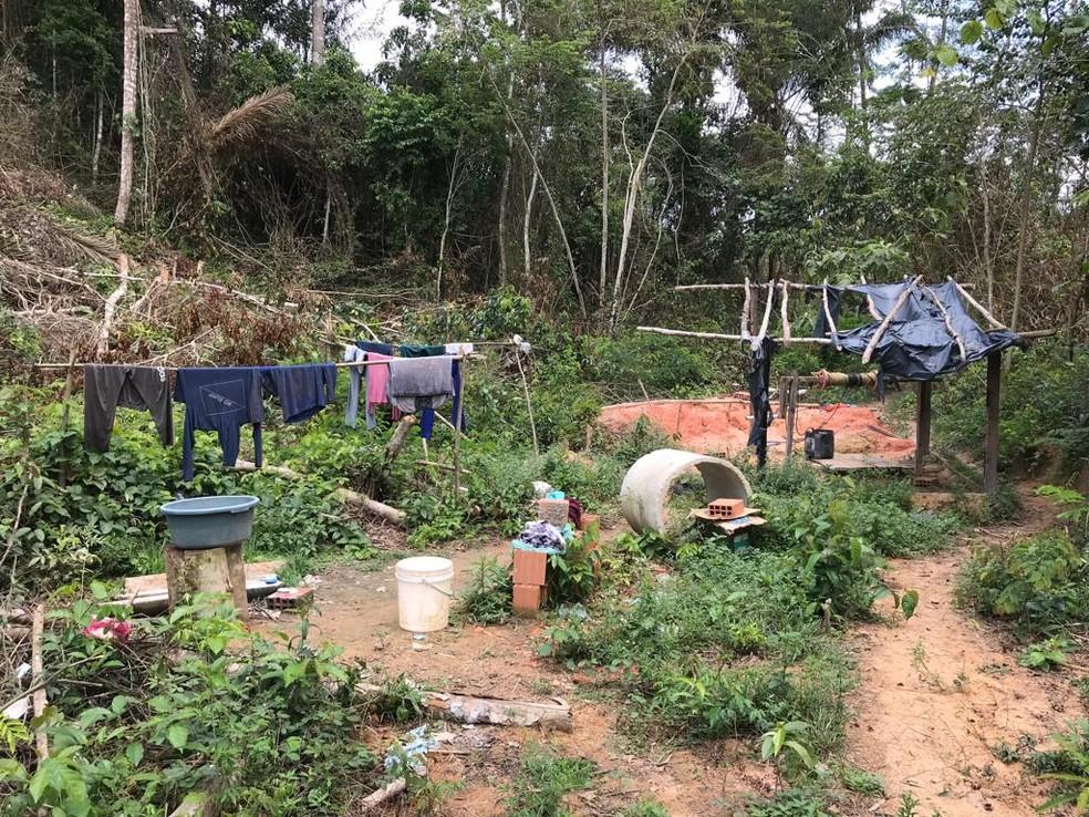Operação resgata 18 trabalhadores em situação análoga à escravidão em Uruará, no PA ? Foto: Reprodução / GEFM