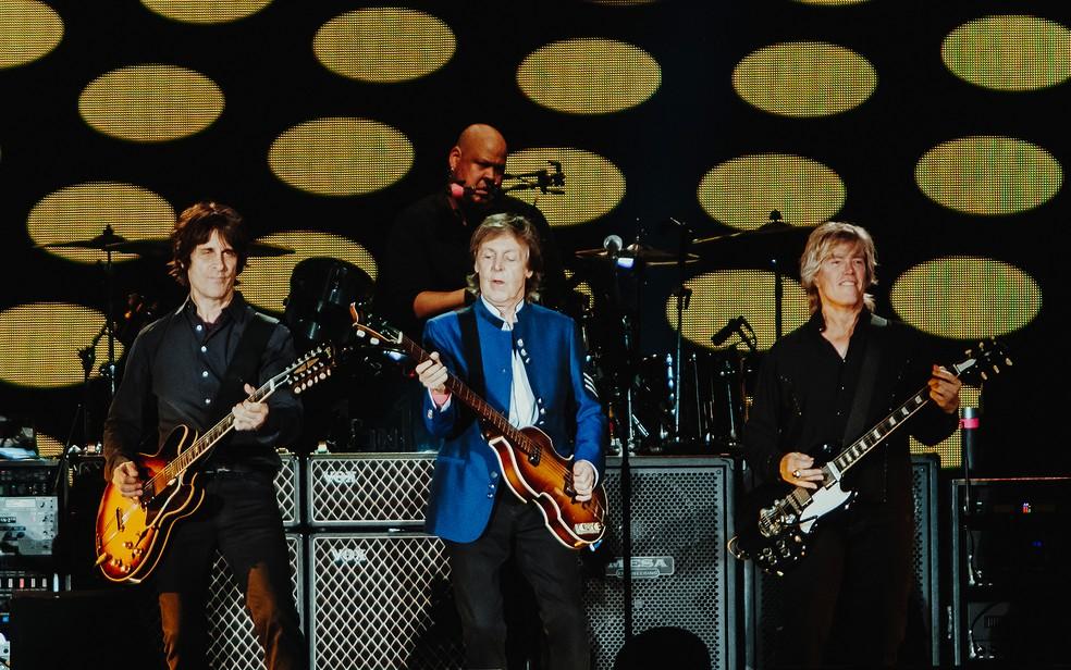 Show de Paul McCartney em Salvador (Foto: Breno Galtier/Divulgação)