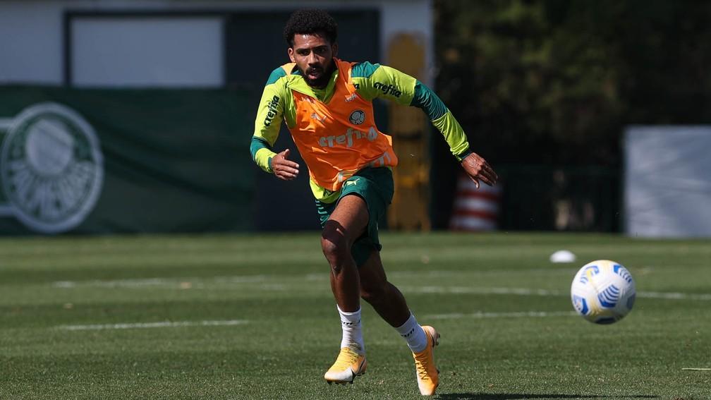 Com Matheus Fernandes, Palmeiras inicia preparação para enfrentar o Fluminense, veja a provável escalação