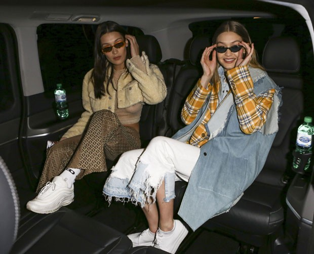 Bella Hadid e Gigi Hadid (Foto: The Grosby Group)