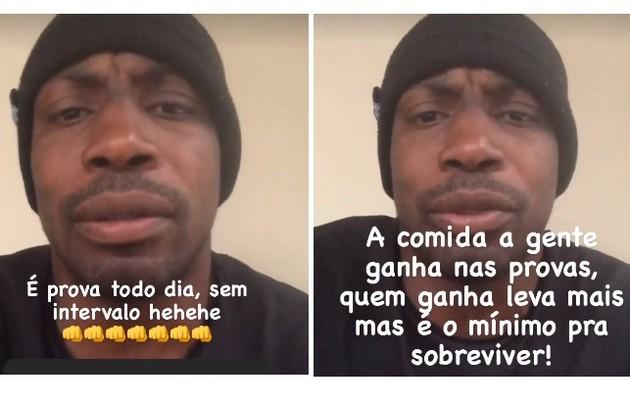 Marcelo Zulu contou em seu Instagram que os participantes tiveram provas todos os dias na locação no Ceará (Foto: Reprodução)