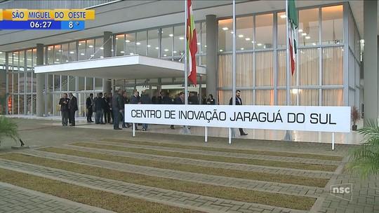 Centro de Inovação de SC é entregue em Jaraguá do Sul; Renato Igor comenta