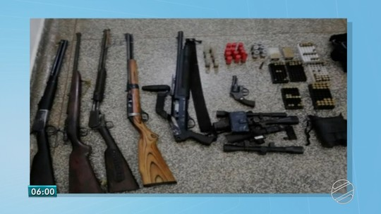 Homem é preso em flagrante ao tentar negociar rifles, espingardas e munições em Miranda, MS