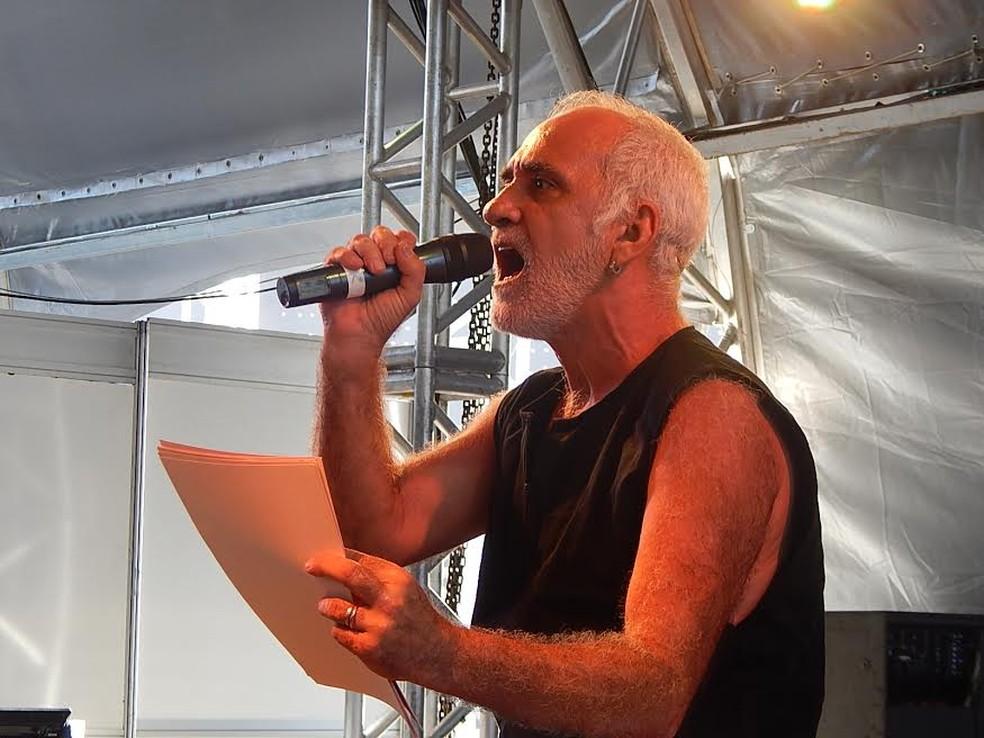 Luiz Pazzini é o homenageado oficial da XI Semana do Teatro no Maranhão — Foto: Divulgação/ Sectur