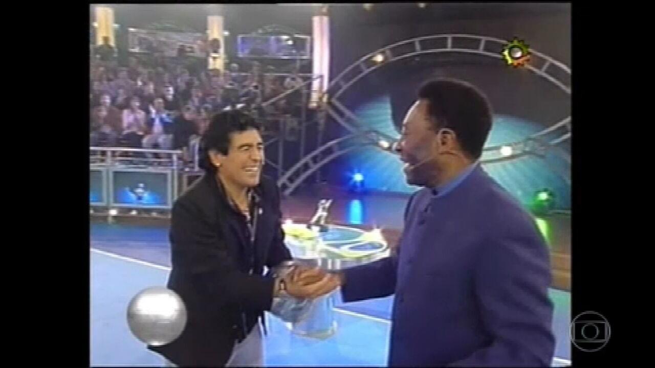 Pelé, Messi e Mike Tyson: Maradona fez sucesso com programa de TV