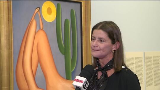 Exposição de Tarsila do Amaral chega ao último dia em SP
